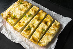 Cheese pie. Pie of pita bread with cheese Stock Images