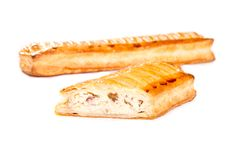 Cheese pie stock image