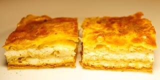 Cheese pie. Stock Photo