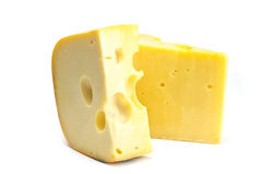 Cheese piece Royalty Free Stock Images