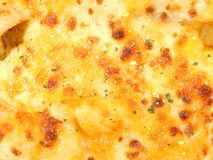 Cheese Pizza Texture Detail royalty free stock images