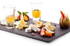 Free Cheese Plate Stock Image - 44153691