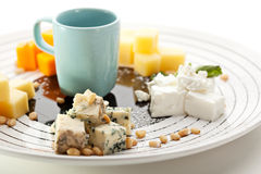 Free Cheese Plate Stock Photography - 52482072