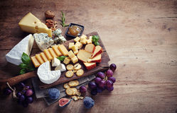 Free Cheese Plate Royalty Free Stock Photo - 58994645