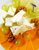 Cheese Plate Stock Image