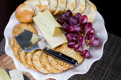 Cheese plateau Royalty Free Stock Photo