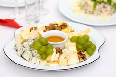 Cheese plateCheese plate Stock Photos