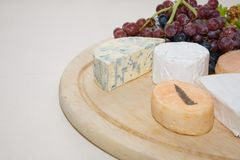 Cheese platter Royalty Free Stock Photo