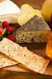 Cheese Platter Royalty Free Stock Photography