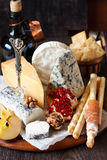 Cheese platter. Stock Photo