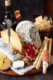 Cheese platter. Stock Photo