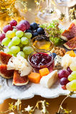Cheese platter Stock Photos