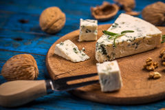 A cheese platter Stock Images
