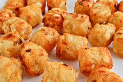 Cheese potato fries Stock Photo