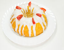 Cheese Pound Cake III Stock Photography