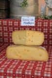Cheese at a Provencal market Royalty Free Stock Image