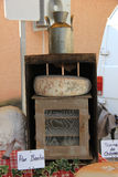 Cheese at a Provencal market Stock Photography