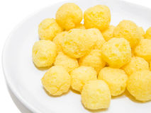 Cheese Puff Balls. Royalty Free Stock Photography