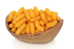 Cheese Puffs Royalty Free Stock Photography