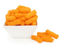 Cheese Puffs Royalty Free Stock Photos