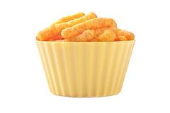 Cheese puffs Stock Photo
