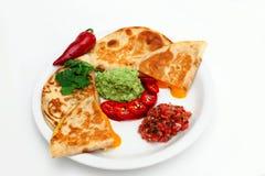 Cheese Quesadilla Stock Image