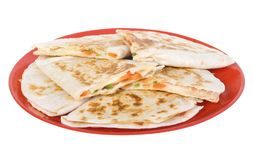 Cheese quesadillas Royalty Free Stock Photography