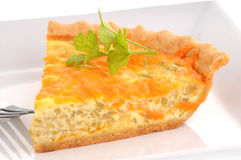 Cheese Quiche stock images