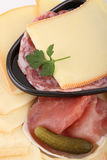Cheese raclette Stock Image