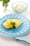 Cheese ravioli Royalty Free Stock Photos