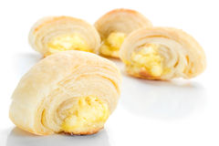Cheese Rolls Royalty Free Stock Photography