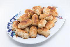 Cheese rolls Stock Images
