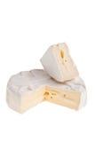 Cheese round block. Stock Image
