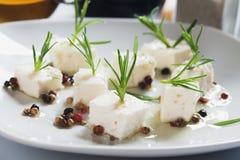 Cheese salad Stock Photos