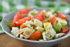 Cheese salad Royalty Free Stock Photography