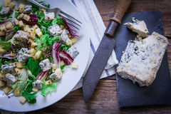 Cheese salad on plate Royalty Free Stock Image