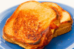 Cheese Sandwich Royalty Free Stock Photos