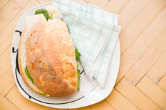 Cheese sandwich is ready Stock Photography