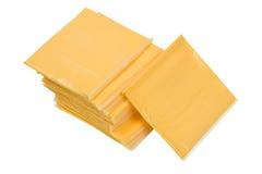 Cheese Sandwich Singles Stock Photos