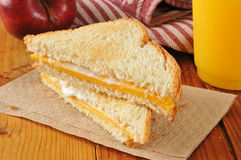 Cheese sandwich Stock Photography