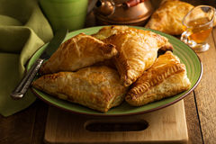 Cheese savory pastries Royalty Free Stock Photography