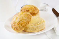 Cheese Scones Stock Photography