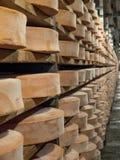 Cheese seasoning caves. Royalty Free Stock Photo