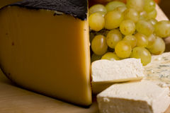 Cheese selection Royalty Free Stock Photography