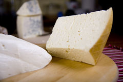 Cheese selection Stock Photography