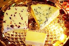 Cheese selection. Stock Photos