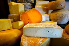 Cheese selection. Selection of irish cheese in dingle Royalty Free Stock Photo