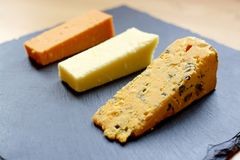 Cheese Selection Royalty Free Stock Images