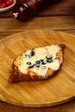 Cheese sesame simit Royalty Free Stock Photos