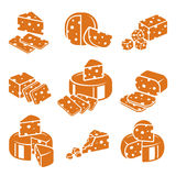 Cheese set. Vector Stock Photo